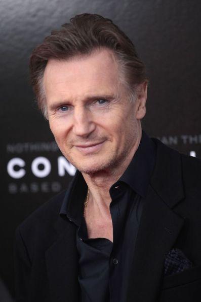 Mandatory Credit: Photo by MediaPunch/REX/Shutterstock (5494731d) Liam Neeson 'Concussion' film premiere, New York, America - 16 Dec 2015