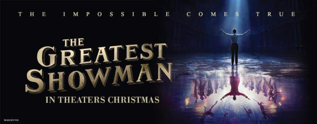 13. The Greatest Showman