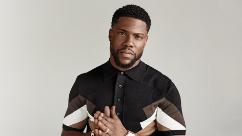 Kevin Hart photographed for Variety by Pamela Littky on April 25, 2017 in LA, CA. *Grooming: John Clausell; Wardrobe: Ashley North: Shirt: Neil Barrett; Pants: Acne
