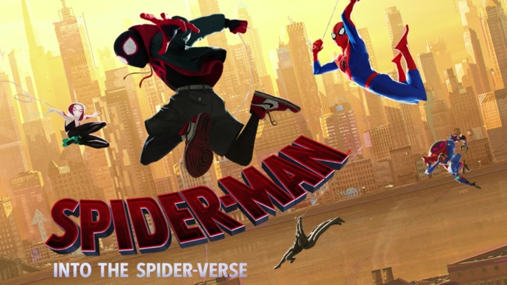 20. Spider-Man Into The Spiderverse