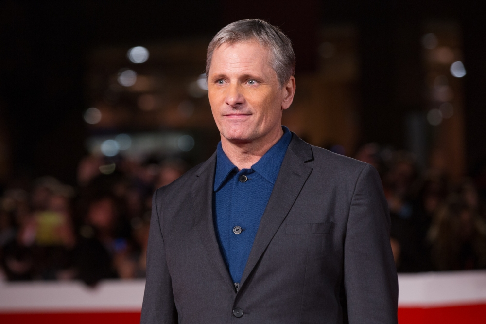 "Viggo Mortensen during the Red Carpet of the film ""Green"