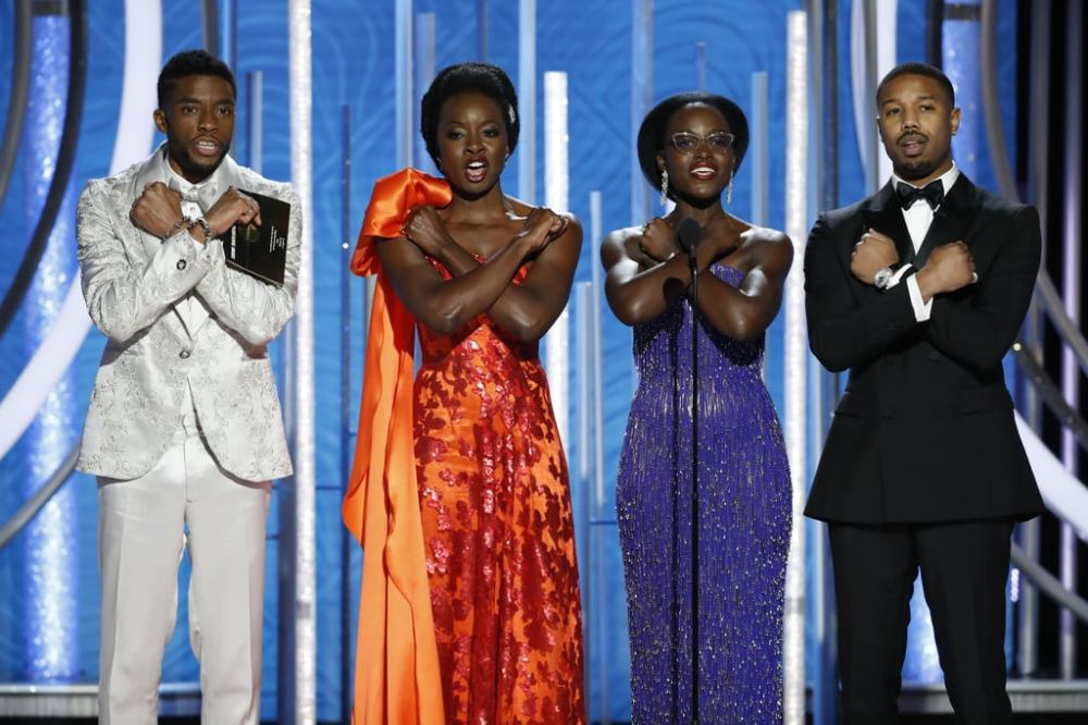 black-panther-cast-golden-globes-2019-photos