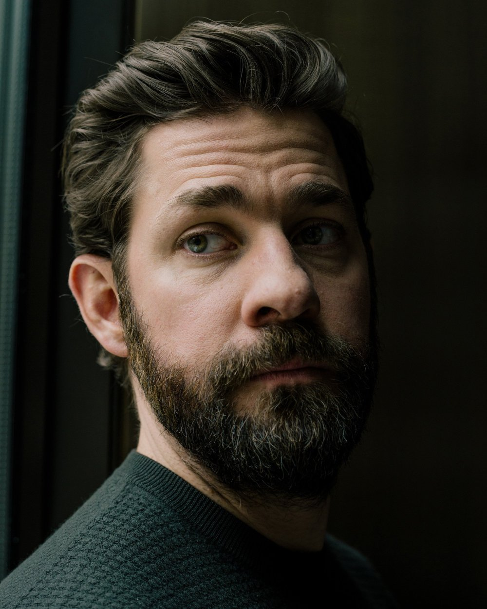 Actor and director John Krasinski in New York on March 26, 2018.