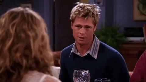 Brad Pritt aparece en Friends
