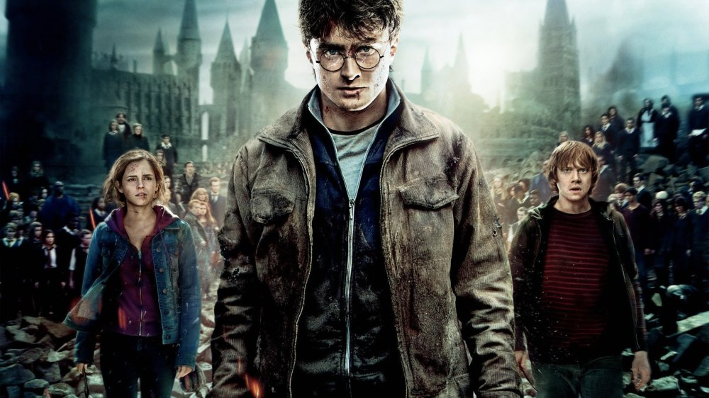 Haryy Potter And The Deathly Hallows 1 y 2